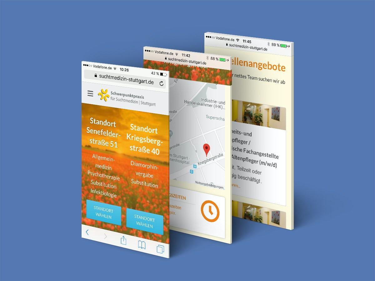 health webdesign