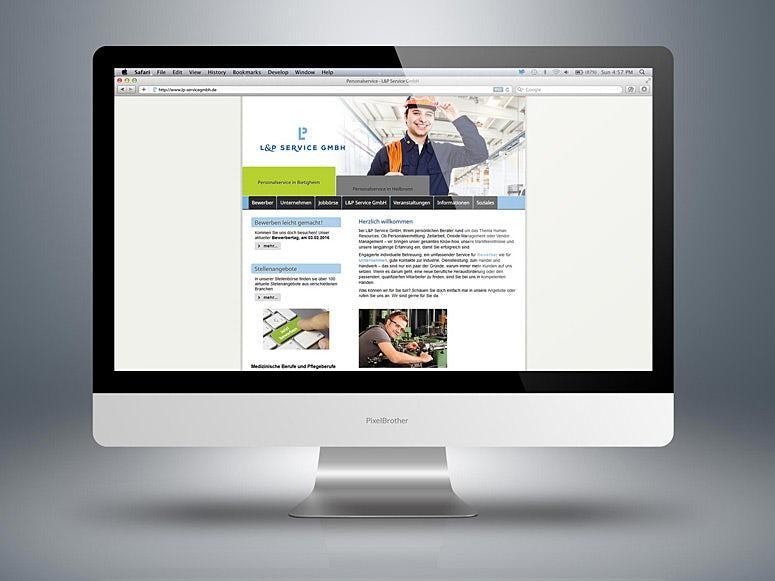 webdesign zeitarbeit