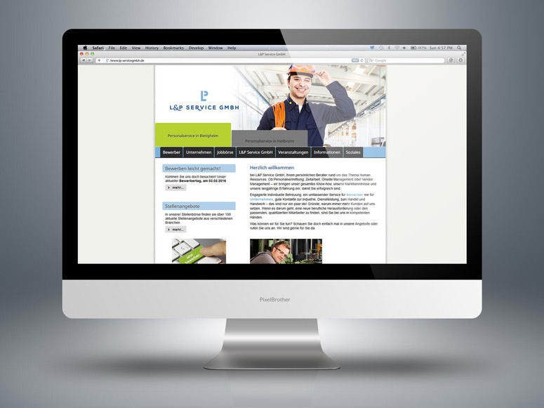 website  personnel service